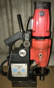 Magnetic Drill Rotabroach Cobra Cm200 230v 1 Phase Six Variable Speed