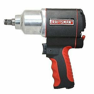 Craftsman Impact Wrench 1 2 In Air Tool Gun Portable High Torque Pistol