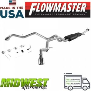 Flowmaster Cat Back Exhaust System Fits 2001 2006 Gm Suburban Yukon Xl 5 3l