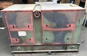 Mep 005a Military 30k Generator Set as is