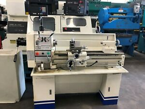 Birmingham Ycl 12 X 36 Engine Lathe With Digital Readout Single Phase 220 Volt