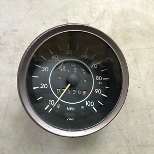 Vw Super Beetle Speedometer Vintage 1973 1979 Volkswagen Speedo Issue