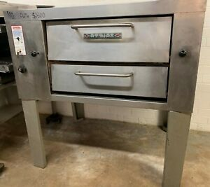 Attias Compact Stone Deck Natural Gas Pizza Oven Jps 4 18
