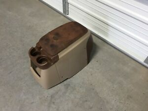 1999 2010 Ford F250 F350 F450 King Ranch Excursion Lariat Tan Center Console