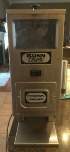 Bunn Omatic G9 Portion Control Single Hopper Commercial Coffee Bean Grinder