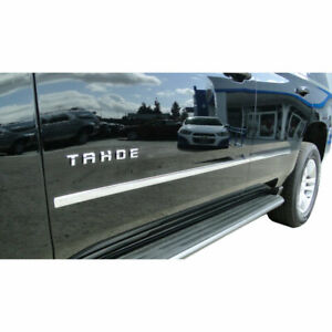 Chrome Factory Style Body Side Molding 4 Pc For 2015 2019 Tahoe