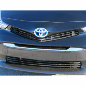 Stainless Steel Grille Accent Trim Fit For 2012 2017 Toyota Prius V Luxfx2623