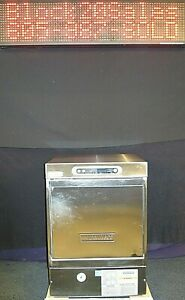 Hobart Lxih High Temp Under Counter Commercial Dishwasher