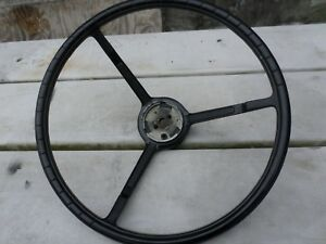 Nos 1950s 1960s Ford Truck Steering Wheel Very Nice No Cracks