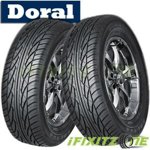 2 New Doral Sdl Series 215 70r15 98s All Season Performance Tires