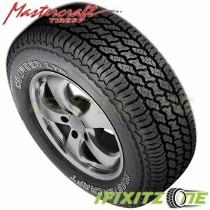 1 X Mastercraft Courser Ltr 30 9 50r15lt 104r Owl 6ply C Load All Season Tires