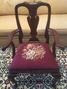 Henkel Harris Mahogany Mount Vernon Arm Chair Style 110a No 3