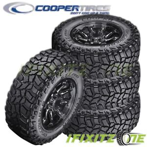 4 Cooper Discoverer Stt Pro 37x13 50r20 127q E Blk Extream All Terrain Mud Tires