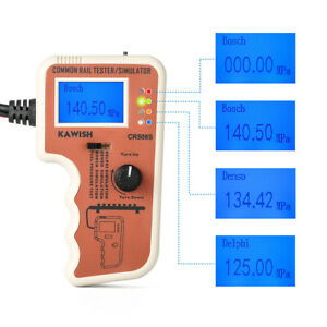 Kawish Cr508s Common Rail Pressure Tester And Simulator Sensor Test Tool