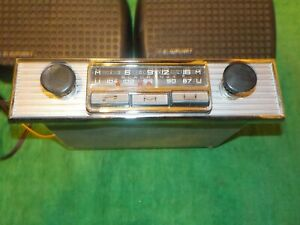 Blaupunkt Mannheim S Used Car Radio Blaupunkt Speakers Porsche Mercedes Bmw
