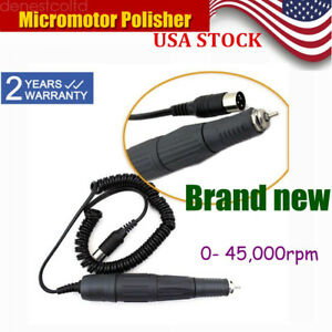 45k Marathon Micromotor Polishing Polisher Handpiece Dental Lab High Speed Usa