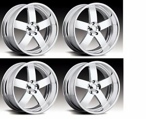 20 Pro Wheels Mag Staggered Rims Billet Forged Intro Boyd Foose Custom Line