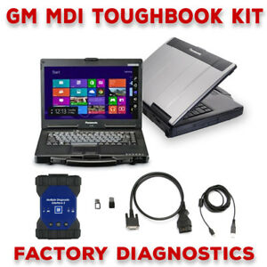 Gm Mdi 2 Toughbook Dealer Diagnostic Kit Tech 2 Ii Full Warranty Ready To Go