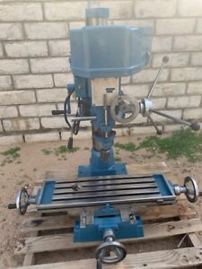 Used Enco Milling And Drilling Machine Model Gl 30b 2 Hp