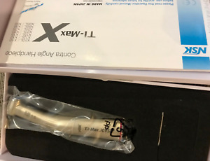 Dental 1 5 Increasing Fiber Optic Contra Angle Red Ring Fit Nsk Ti Max X95l