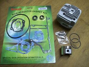 Stihl Ts400 Cylinder Piston W Rings Rebuild W Gasket Set New Aftermarket
