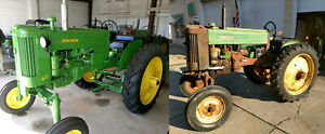 1956 John Deere 40 v Special 40v High Crop Tractor Two Ie 420 v 430 v 420v 430v