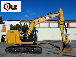 2015 Cat 312e Hydraulic Crawler Excavator Low Hours Heat And Ac