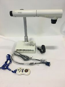 Elmo Tt 02s Document Camera Visual Presenter W Ac Adapter remote