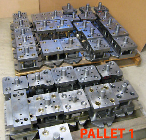 Lot Of 64 Punch Press Die Sets Custom made And Production Models