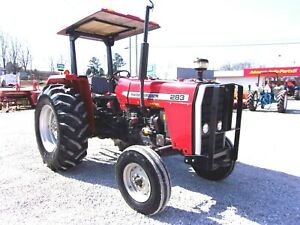 1995 Massey Ferguson 283 Tractor low Hrs delivery 1 85 Per Loaded Mile