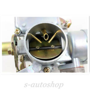 Carburetor With Hardware 12v Electric For Vw Beetle 113129031k Silver Brand New