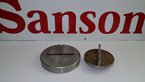 Wilson Tool Thick Turret 250 X 4 250 Rt 008 Parting Punch Die Set