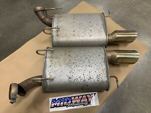 2011 2012 2013 2014 Ford Mustang Gt Boss 302 Mufflers Exhaust Pair Oem