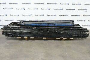 Pallet Racking Package 12 H X 41 Uprights 8 Long Beams