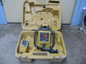2016 Topcon Rl h4c Self leveling Rotary Laser Level Ls 80l Detector Receiver