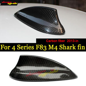 For Bmw F83 M4 Real Carbon Shark Fin Antenna Cover M4 F83 Roof Shark Fin Antenna