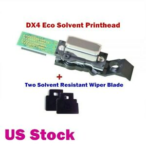 Us Stock Roland Eco Solvent Printhead Dx4 Print Head 2 Wiper Blade 1000002201