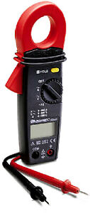 600v Digital Clamp On Electrical Multimeter