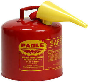 Gasoline Can Type i 5 gal