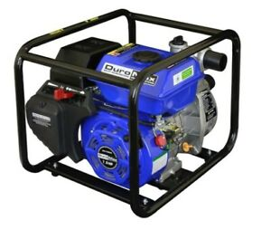 Water Pump Portable Utility Gas Powered Durable Flooded Basement Storage Tank