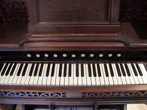 Antique Sterling Reed Pump Organ Nice Condition 1880 S Derby Conn