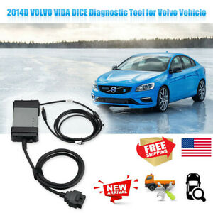 Upgraded 2014d Volvo Vida Dice Obdii Code Reader Car Auto Diagnostic Scan Tools