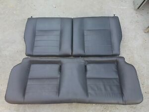 Uber Rare 92 95 Honda Civic Hatchback Oem Rear Leather Seat Dc2 Db8 Eg6 Eg9 Em1