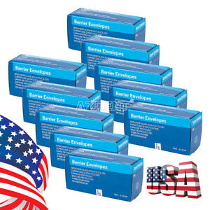 10box Dental Barrier Envelopes 2 For Intra Oral X ray Scanx Phosphor Plate