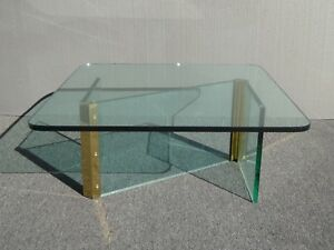 Vintage Mid Century Modern Leon Rosen For Pace Z Shaped Coffee Table Square