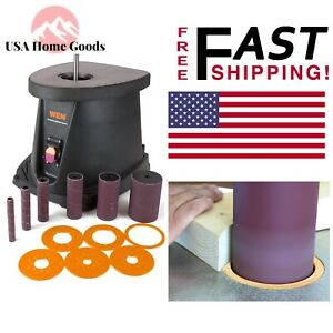 Wen 1 2hp Oscillating Spindle Sander 3 5 Amp Heavy Duty Rust polish