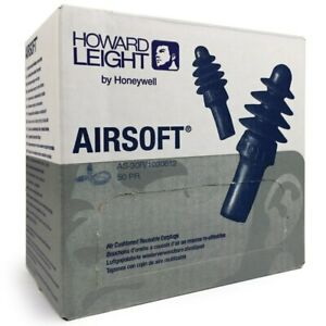 Howard Leight By Honeywell Airsoft Reusable Ear Plugs W red Poly cord