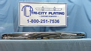1949 49 1950 50 Mercury Rear Bumper Show Quality Chrome