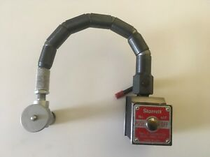 Starrett No 657 Magnetic Base test Indicator Holder