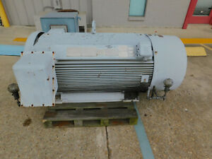 Siemens Electric Motor 500 Hp 3580 Rpm 5810s Frame 2300 4600 Volts Induction